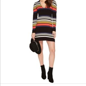 Free People Dresses - Free People Striped Gidget Knit Sweater Dress